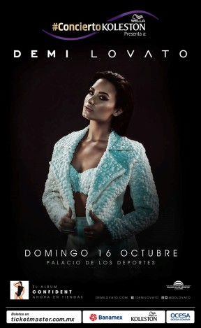 Demi Lovato - Mexico City - Revised General Art